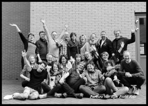 groepsfoto zwartwit 1